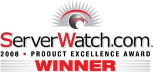 VMLogix LabManager winner of ServerWatch.Com Product Excellence Award