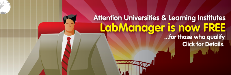 Virtual lab management at no cost to Universities worldwide